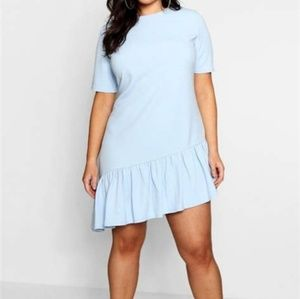 Asymmetric Hem shift dress